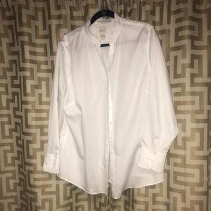 White Chicos No Iron button down shirt.